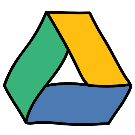 Google Drive icon in Doodle