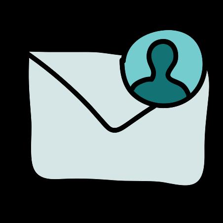 Contatto di posta icon