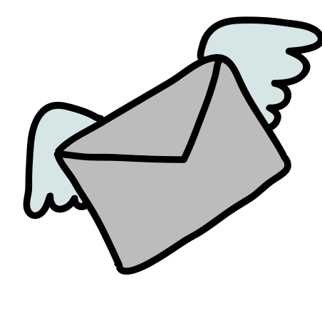 Mail With Wings icon