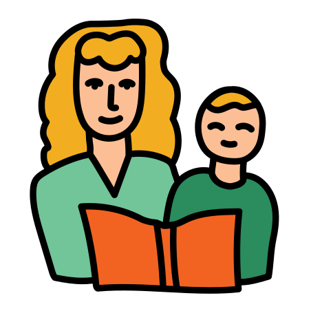 Mommy and Me Classes icon in Doodle