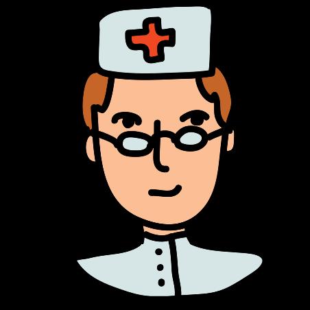Krankenschwester weiblich icon