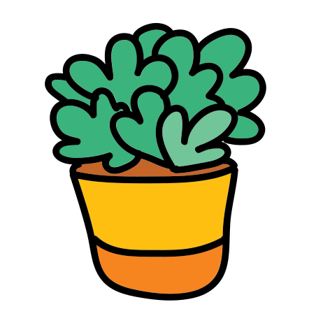 Potted Plant icon in Doodle