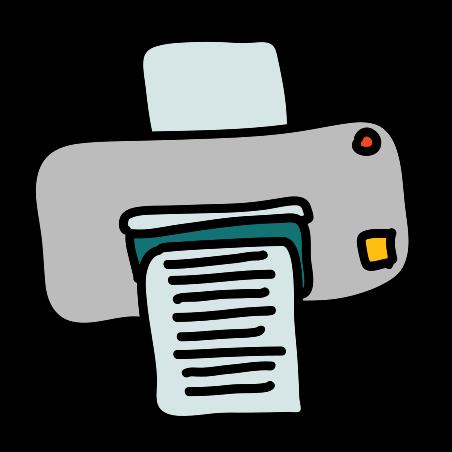 打印 icon