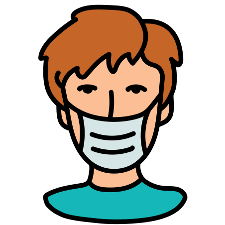 Protection Mask icon in Doodle