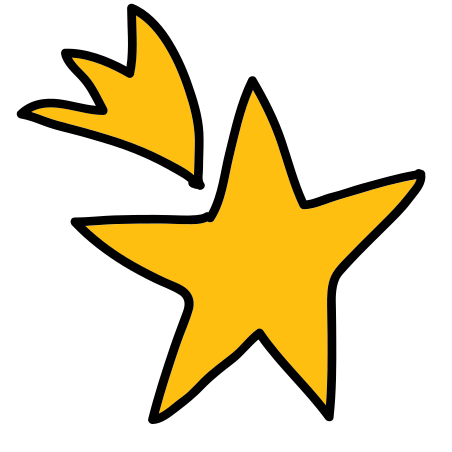 Shooting Stars icon in Doodle