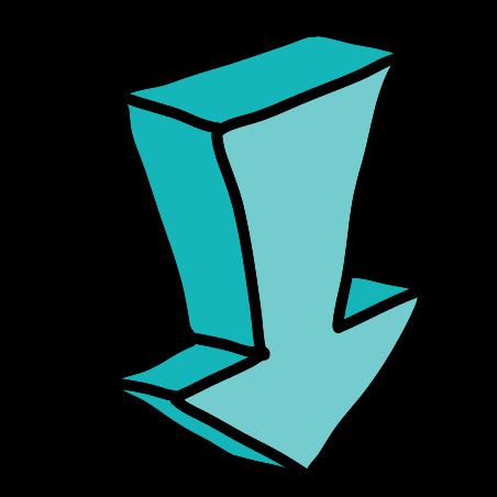 두꺼운 화살 가리개 icon