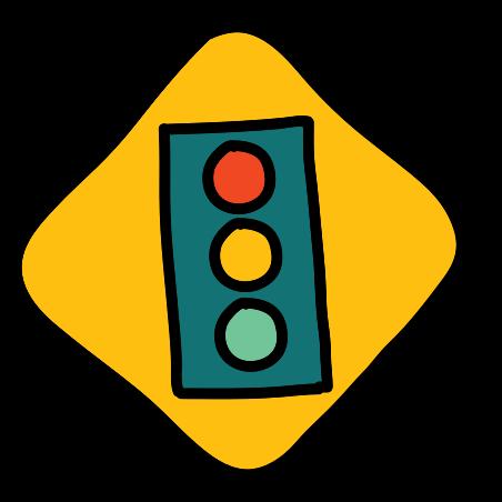 Traffic Lights Sign icon