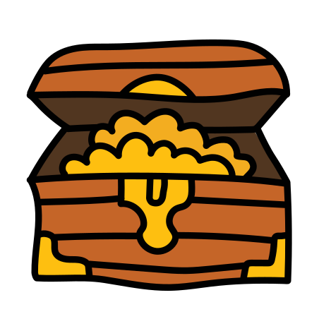 Baú do tesouro icon