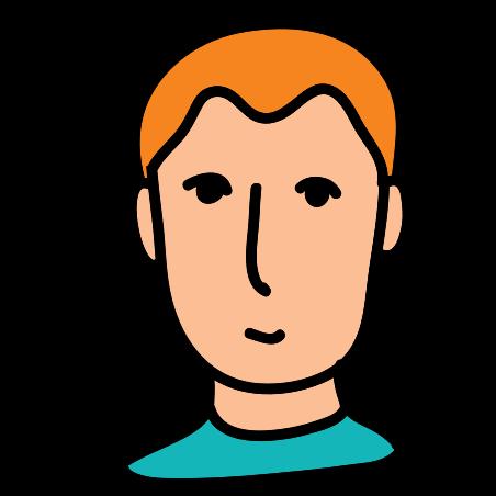 ユーザ男性 icon