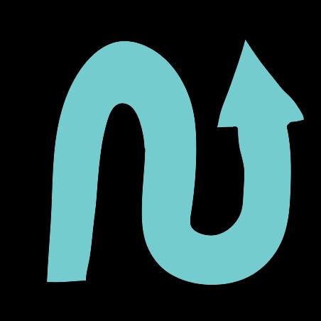 Wavy Arrow Up icon