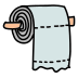 Papier toaletowy icon