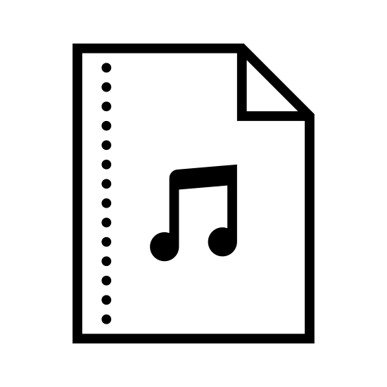 Archivo de audio icon