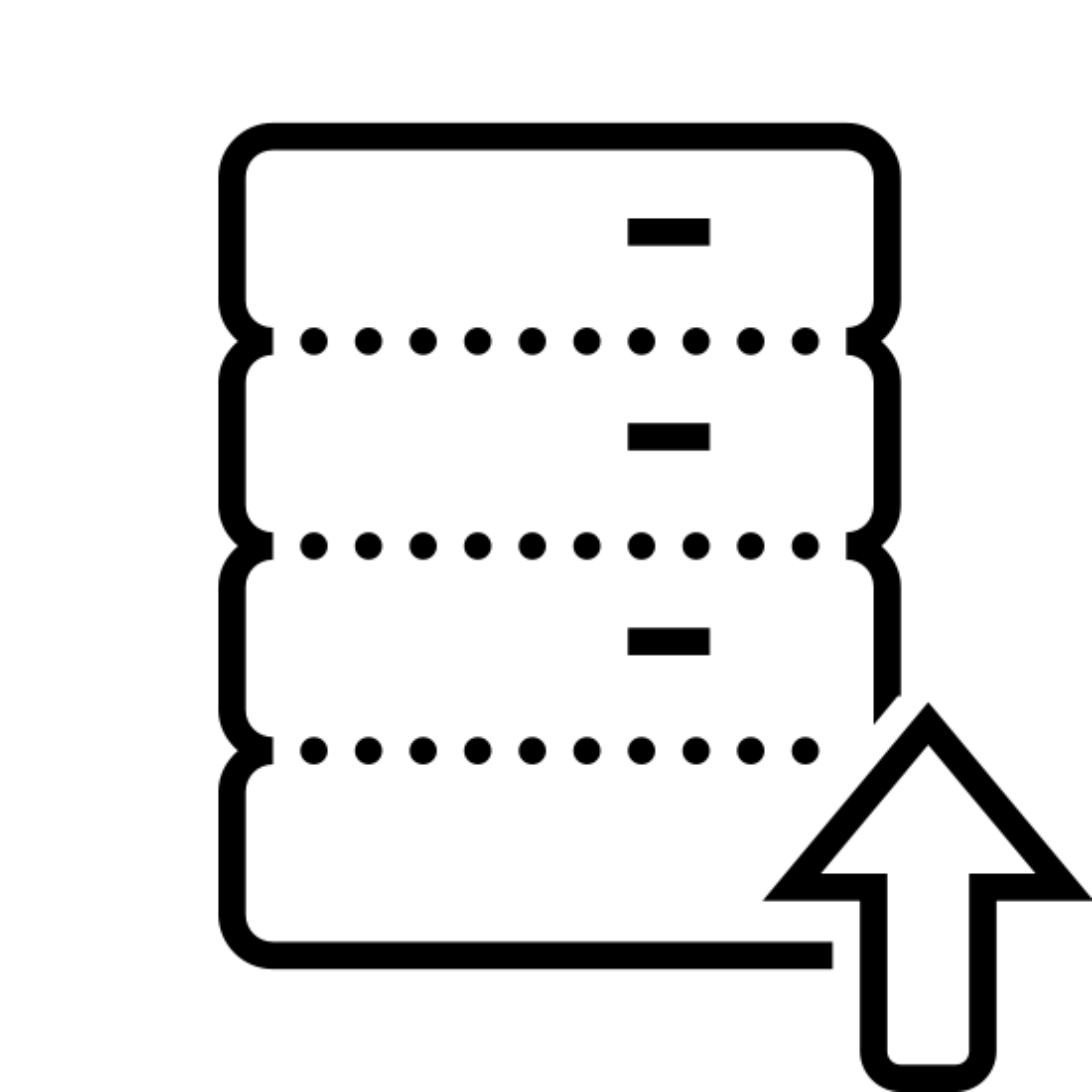 Przywracanie bazy danych icon