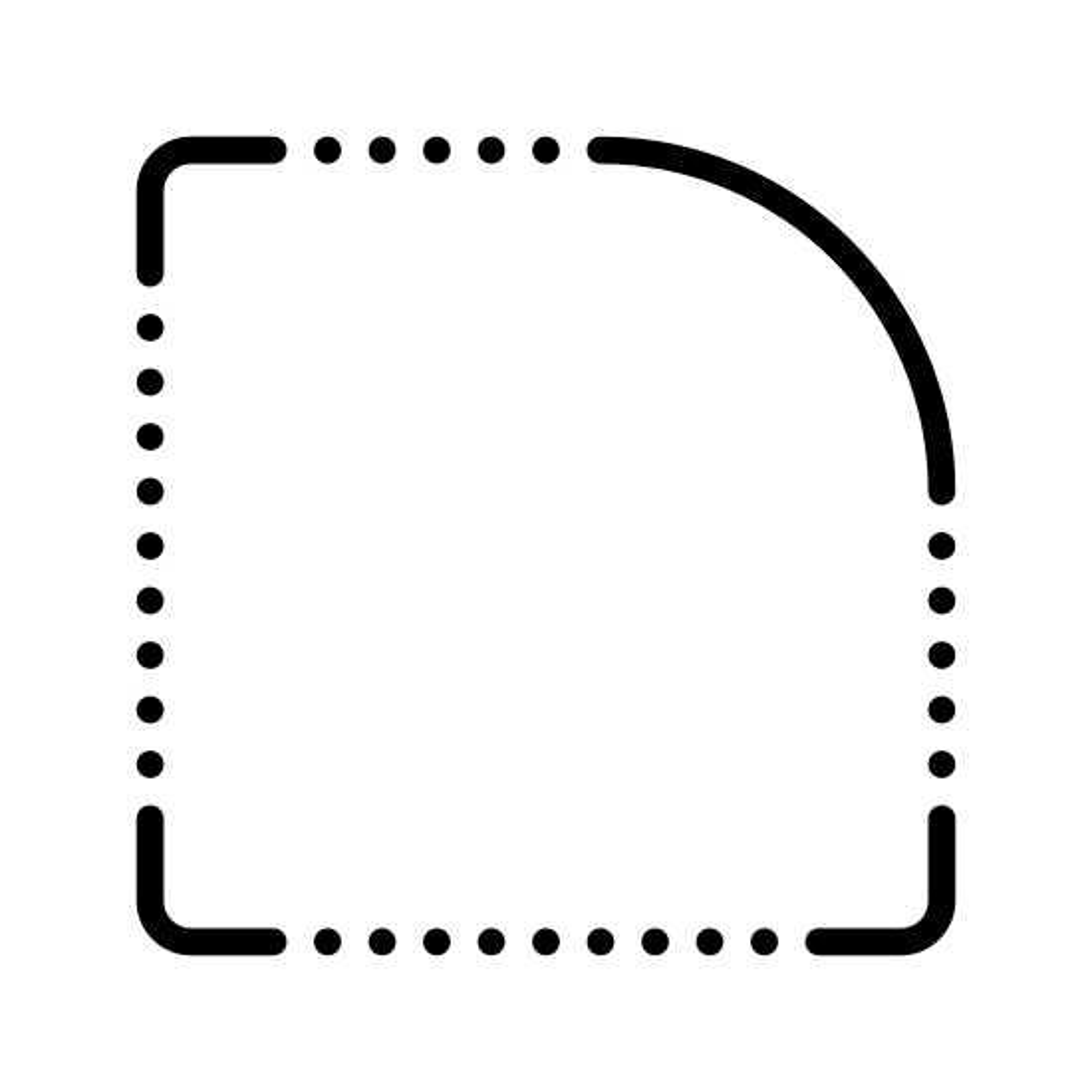 Rounded Corner icon