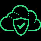 cloud firewall icon