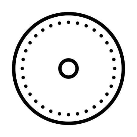 Initial State icon in Dotted