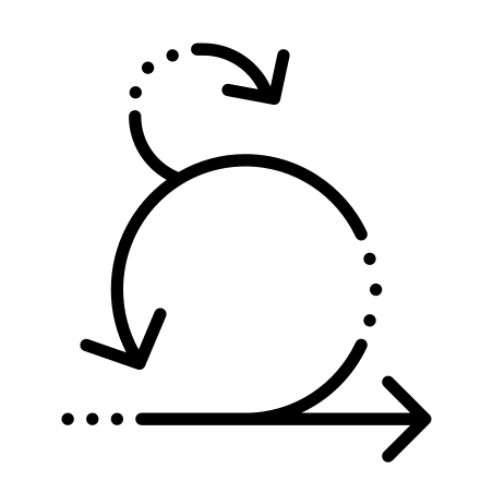 Sprint Iteration icon in Dotted