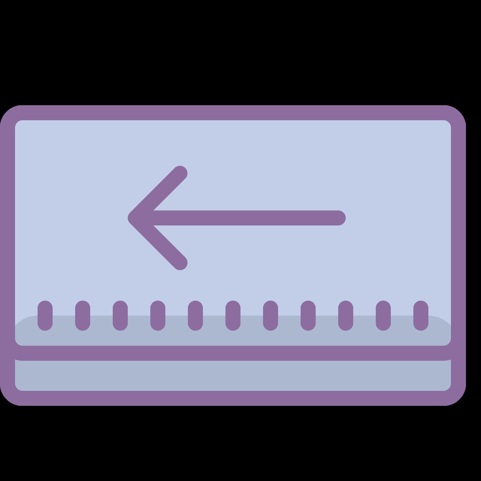 Backspace icon