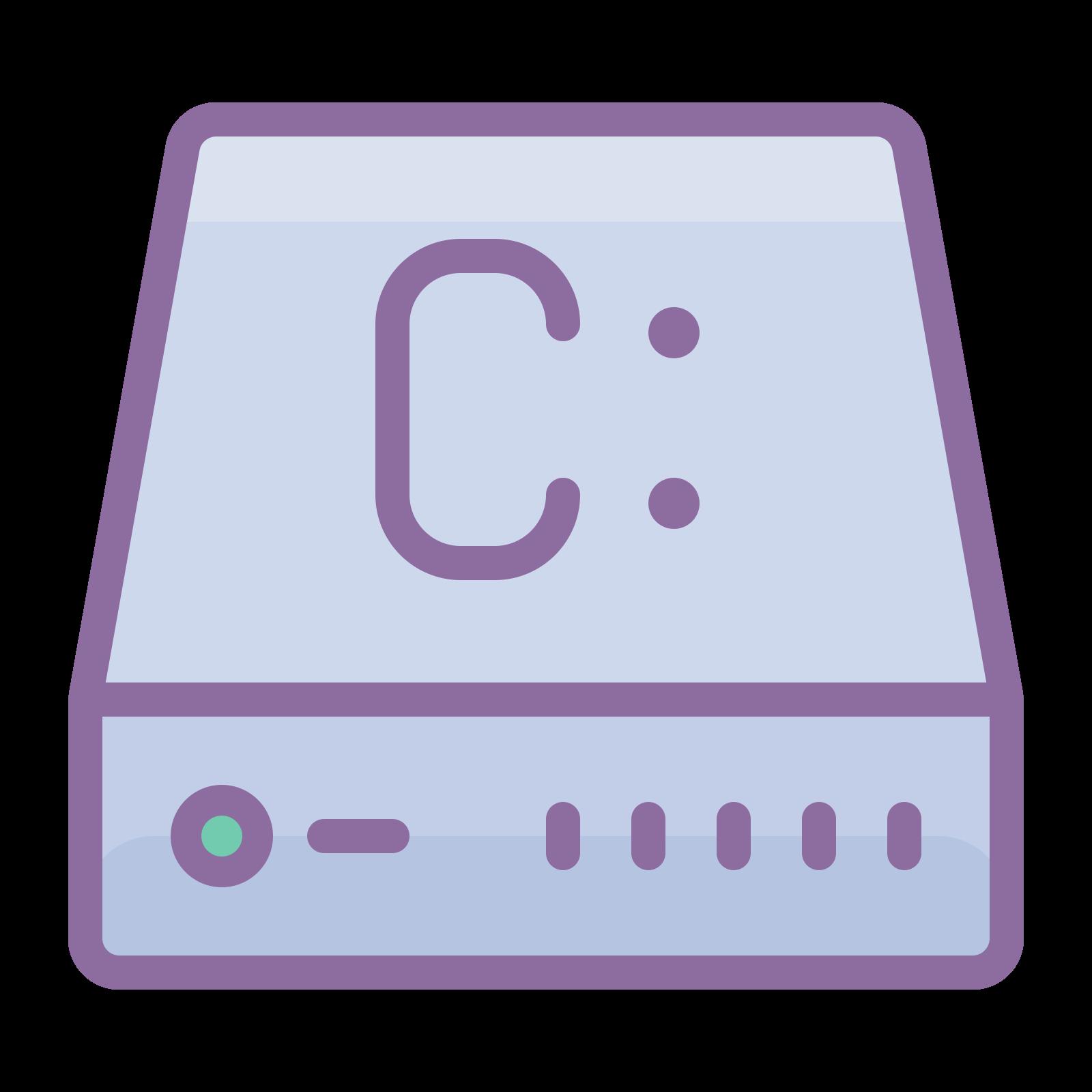 Dysk C 2 icon