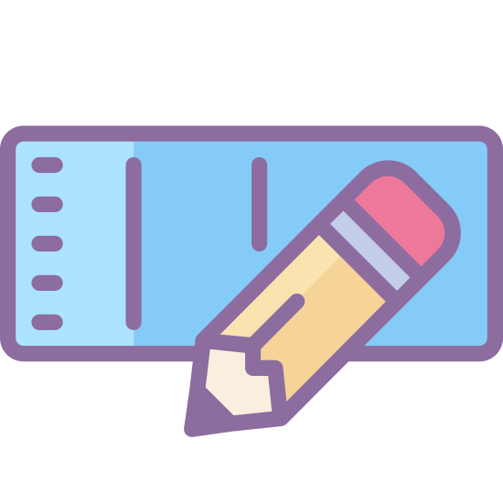 Edit Row icon. This is a picture of a rectangular box with rounded corners. coming from the top center of the box is a pencil that appears to be drawing in the box.