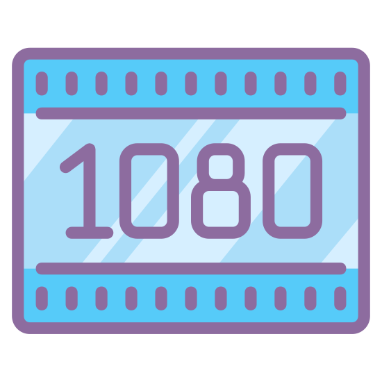 HD 1080p icon. It's a logo of HD 1080p reduced to an image with the numbers 1080 on it. The logo is enclosed by a square. It pretty much looks like the 1080p logo on most High definition televisions.