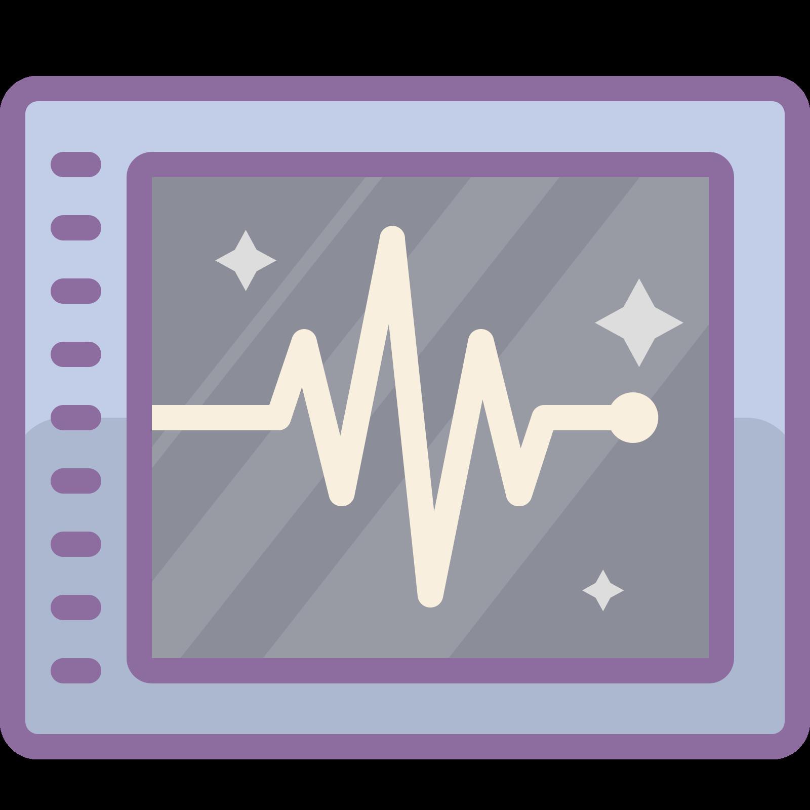 Monitor cardíaco icon