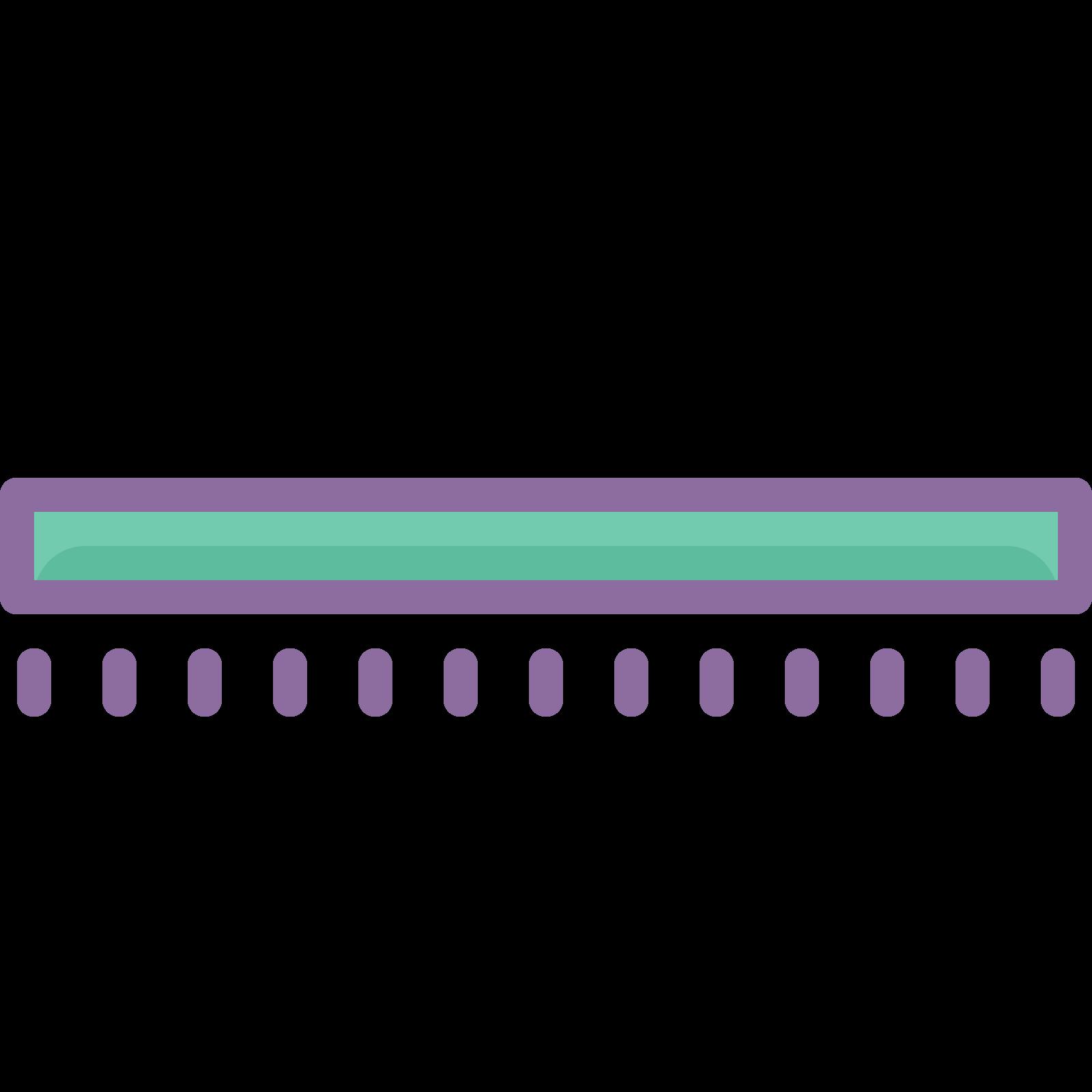 水平線 icon. The icon is very simple looking and is shaped like a very thin rectangle shape. Each corner of the rectangle shape is pointed. The shape is laying flat in a horizontal position.