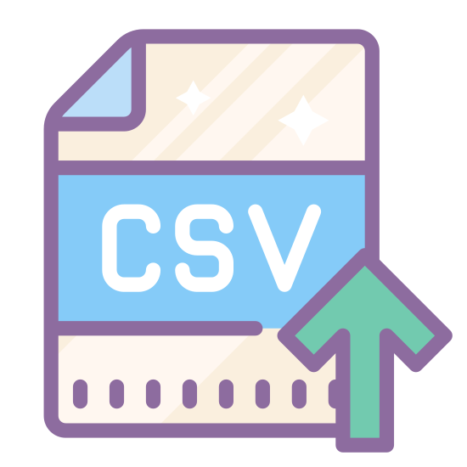 Import CSV icon