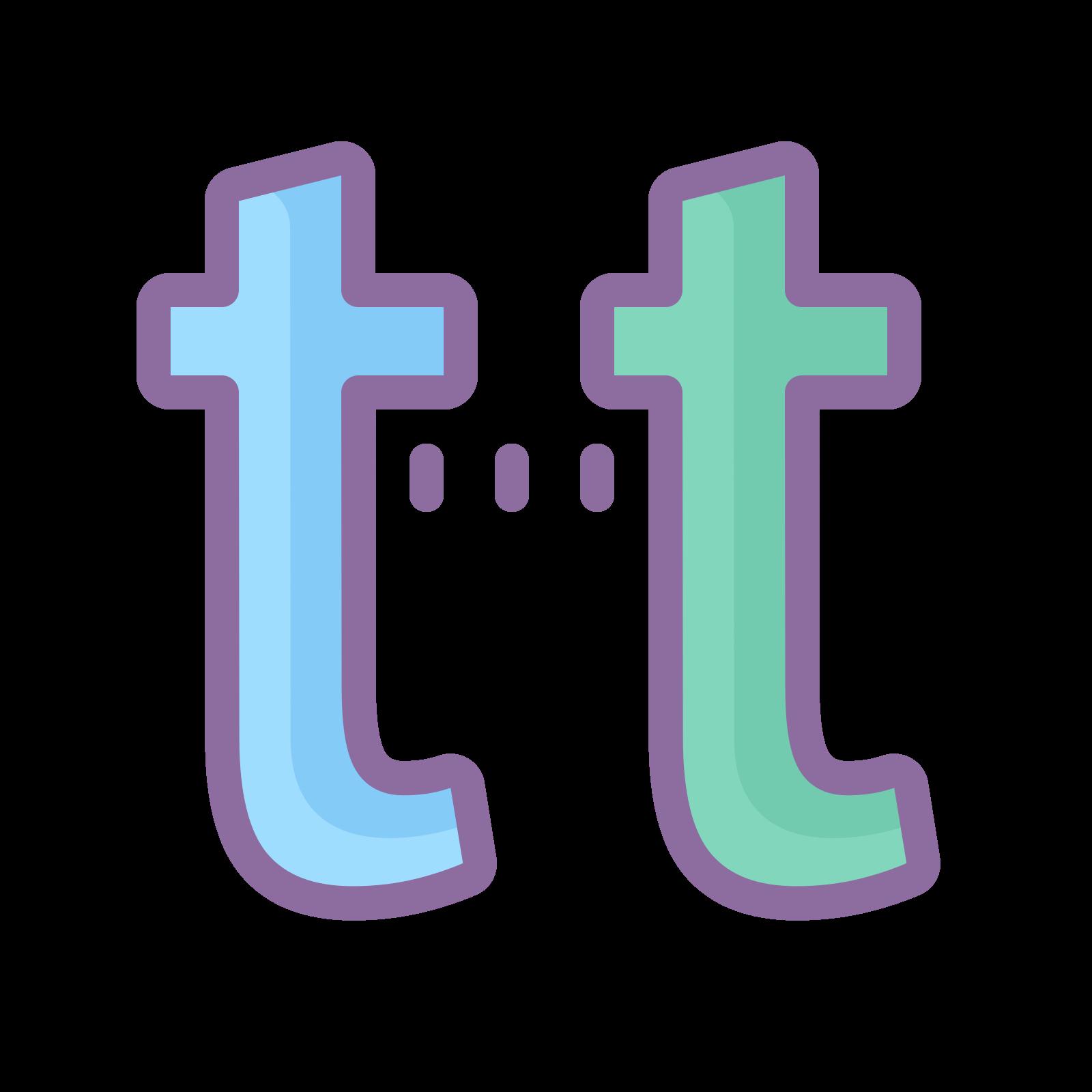 Lowercase 2 icon