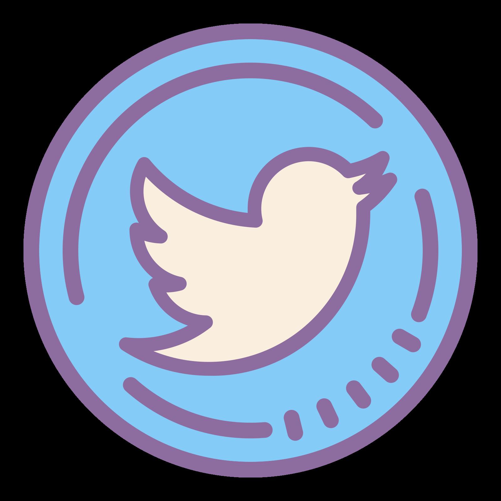 Twitter eingekreist icon