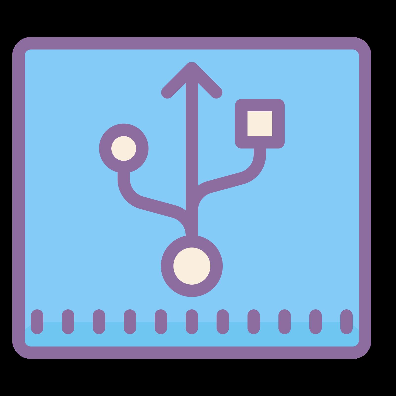 Złącze USB icon