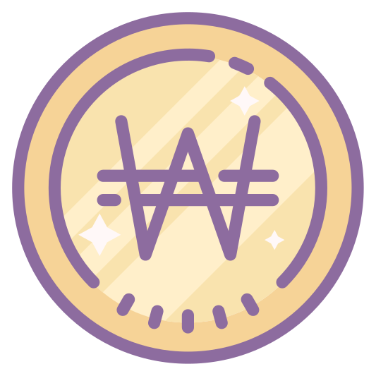 Wygrał icon. This is an icon that represents a win. The image is very simple in design. It is an upper case W with two lines running horizontally through the middle of the W. The W is in surrounded by a circle.