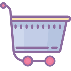 dusk shopping-cart icon