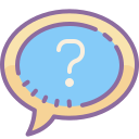 Question Mark in a Chat Bubble icon