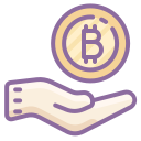 Bitcoin Accepted icon