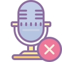 Выключить микрофон icon