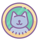Cat Profile Picture icon
