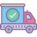 Delivery Completed icon