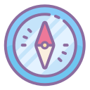 compass north icon