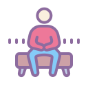 Man Sitting icon