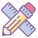 Ruler Pencil icon