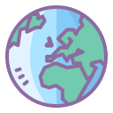 Globe Outline icon