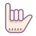 hang 10 icon