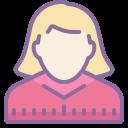 user female icon