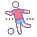 Person Kicking Ball icon