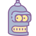 futurama bender icon