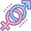 Female and Male Symbols icon