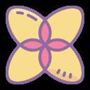 Геометрический цветок icon