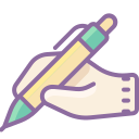 Hand With Pen icon