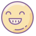 Happy Face Emoticon icon